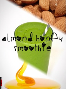 Almond honey smoothie